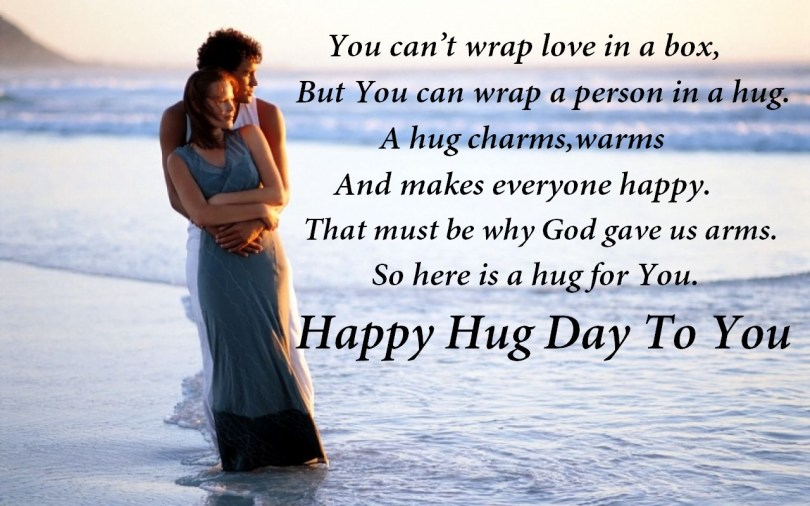 Perfect Hug dady To You I Love You Quotes Image