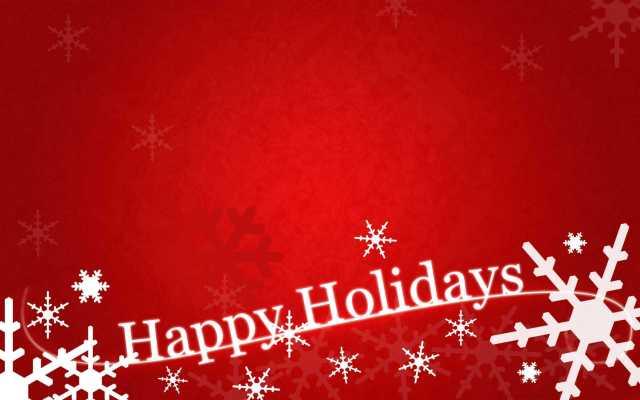 Romantic Happy Holiday Greetings Image