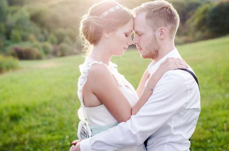 Romantic Wedding Couple Wallpaper