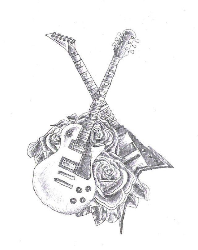 Rock Band Tattoo 024
