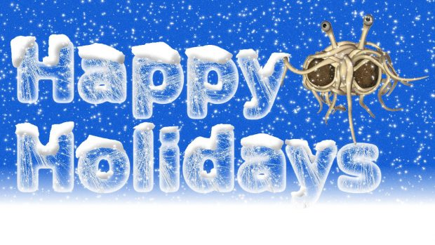 Snow Happy Holiday Wishes Image