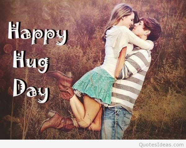 Special Hug Day Wishes To My Love Image