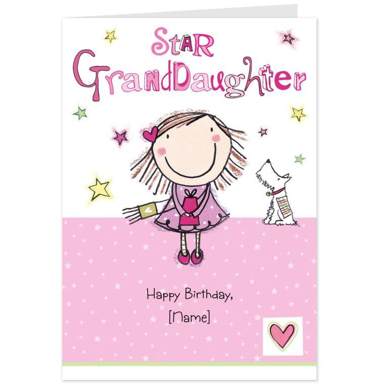 Star Granddaughter Happy Birthday