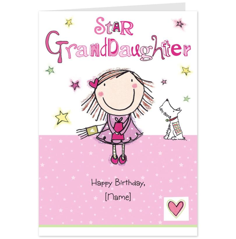 Star Granddaughter Happy Birthday