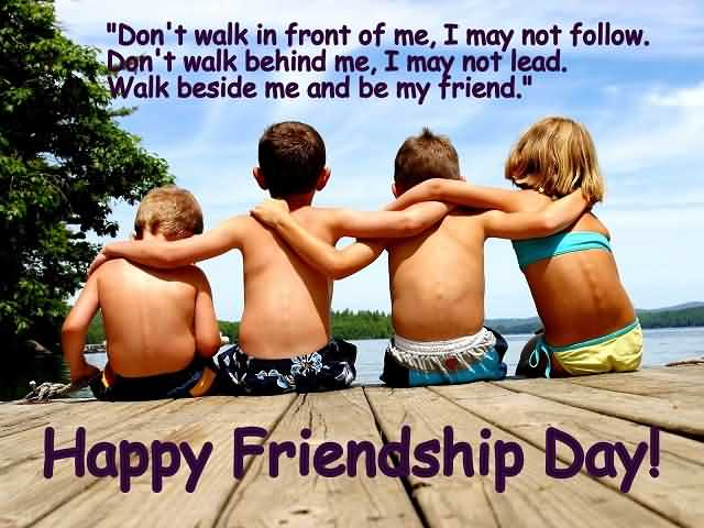 Sweet Happy Friendship Day Wishes Image