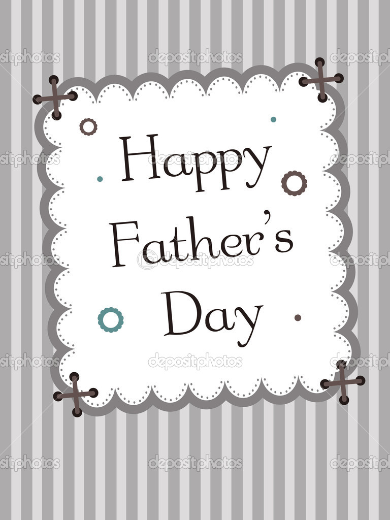 To My Dear Dad Happy Father's Day Greetings Image