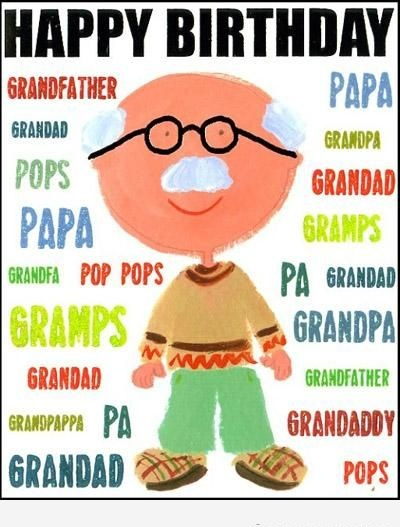 To My Lovely Grandpa Birthday Wishes Message Image