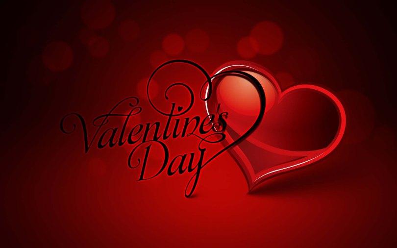 Valentine Day Wishes Wallpaper