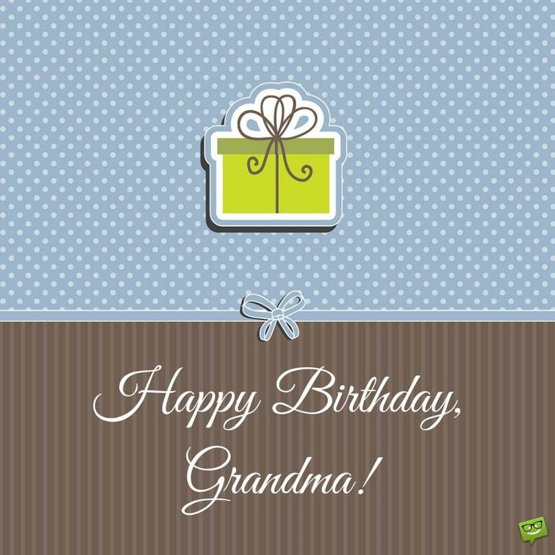 Very Special Day Happy Birthday Grandma Greeting Image