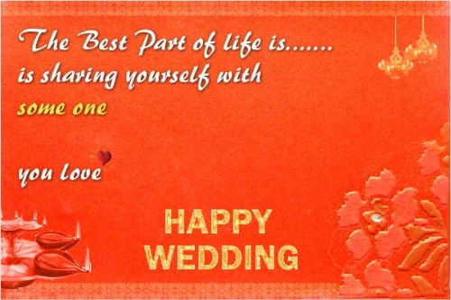 Wedding Wishes Quotes Image
