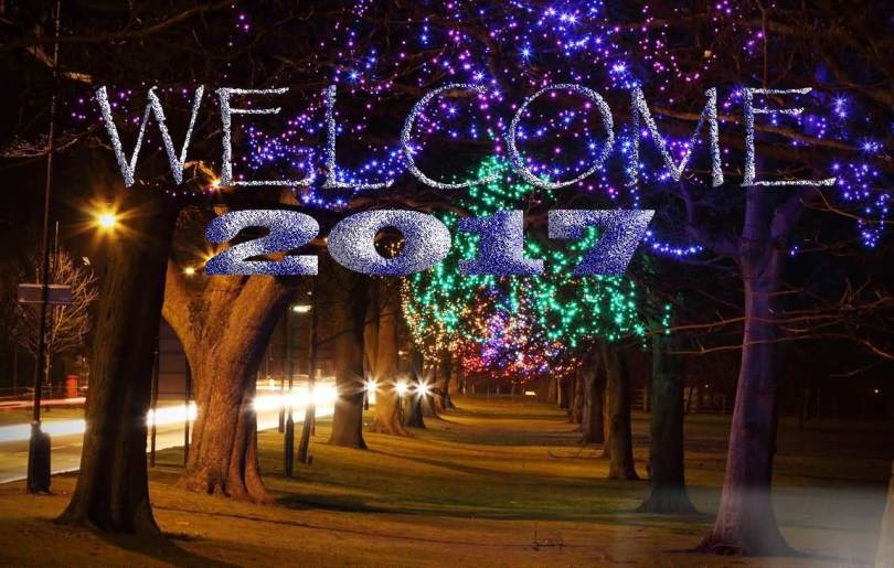 Welcome 2017 Wishes To Everyone Image