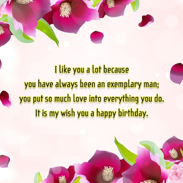 Wish You A Happy Birthday Greetings Message