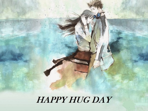 Wish You A Very Happy Hug Day Graphics