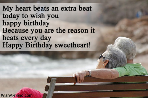 Wish You Happy Birthday Sweetheart Greetings Image Quotes Image