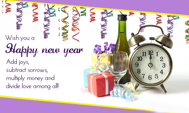 Wish You Happy New Year Wishes Image