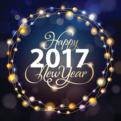 Wishes You A Happy New 2017 New Year Image