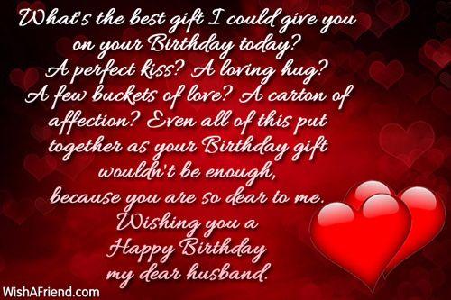 Wishing You A Happy Birthday My Dear Husband Wishes Picsmine Wishing My Hubby A Happy Birthday