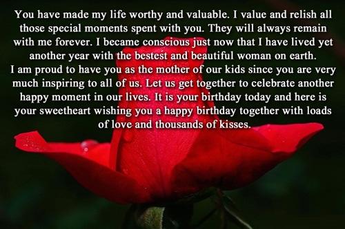 45 Pretty Wife Birthday Quotes Greetings Wishes Photos Picsmine Quotes Wishing Happy Birthday