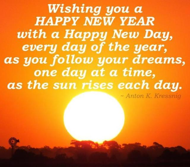 Wishing You A Happy New Year Wishes Quotes Image