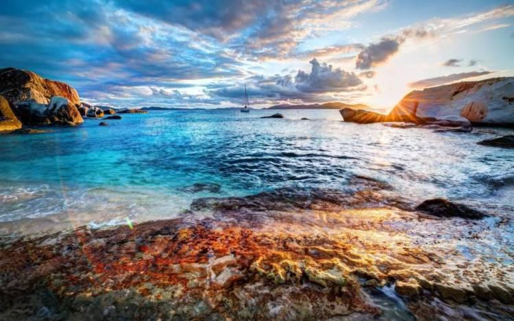 Wonderful Beach Free HD 4K Wallpaper