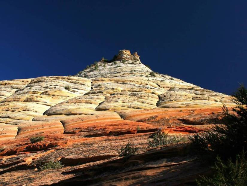 Wonderful Checkerboard Mesa Zion National Park Utah 4K Wallpaper