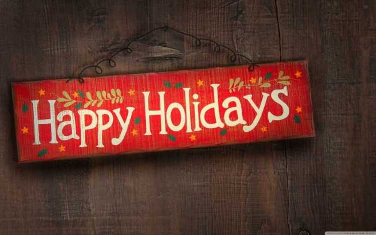 Wonderful Happy Holiday Wishes Image