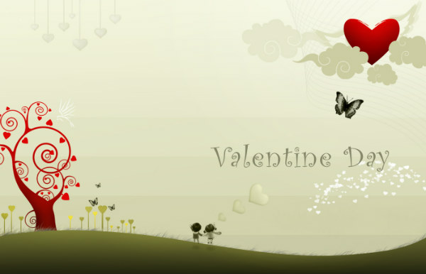 Wonderful Happy Valentine Day Wishes Image