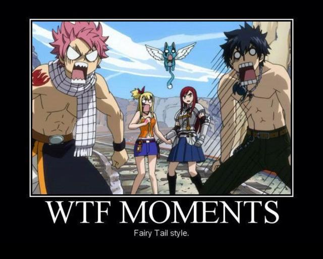 Wtf Moments Fairy Tail Style Funny WTF Memes