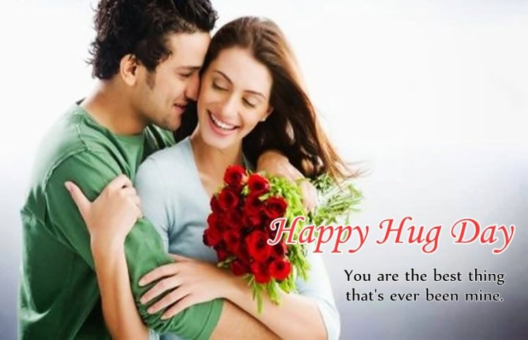 You Are The Best Thing Happy Hug Day Image