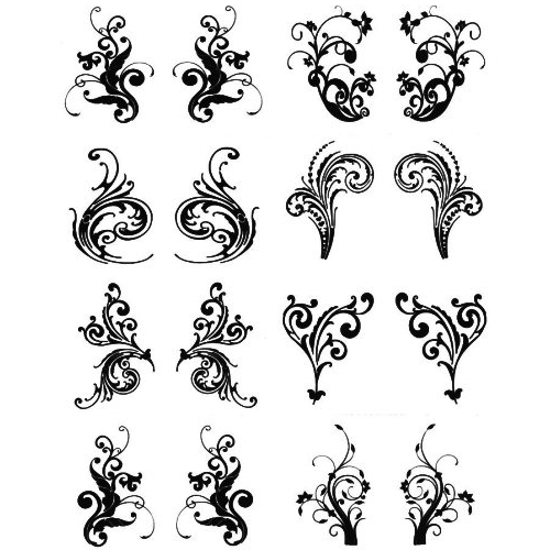 Amazing Henna Tattoo Set For Girls