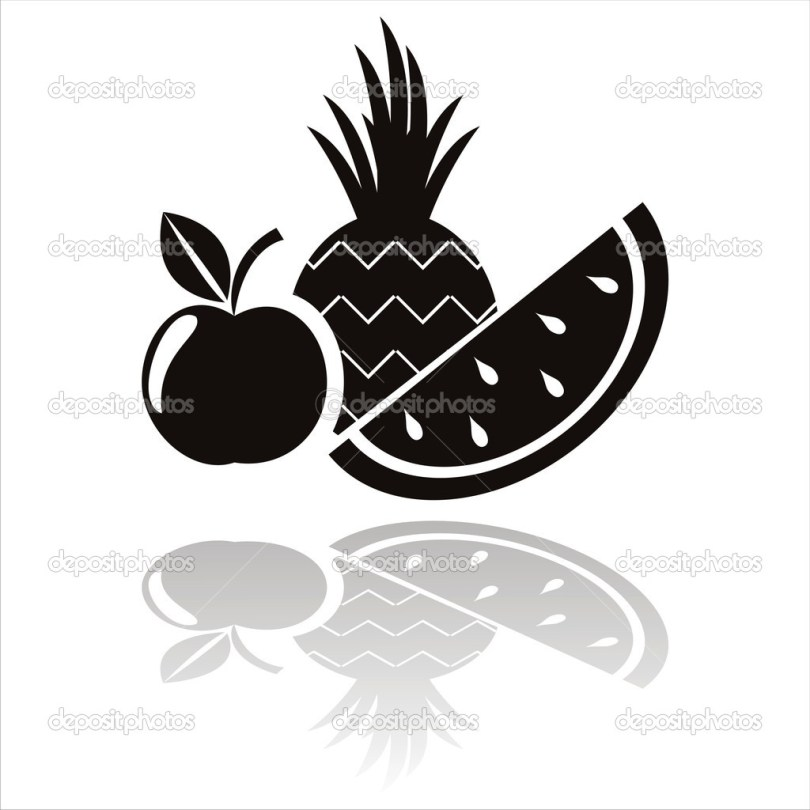 Beautiful Fruits Tattoo Designs For Boys