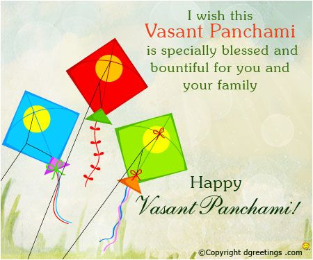 Bets Wishes Happy Vasant Panchami