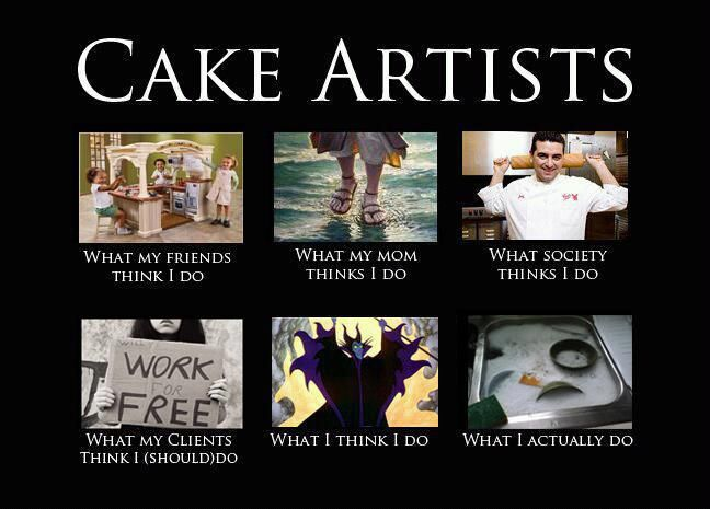Cake Artists Meme Graphic