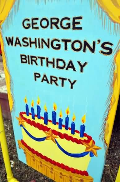 Celebrate Washington Birthday Image