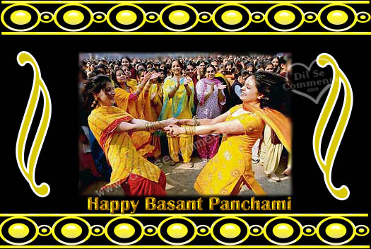 Celebrating Basant Panchami Wishes Images