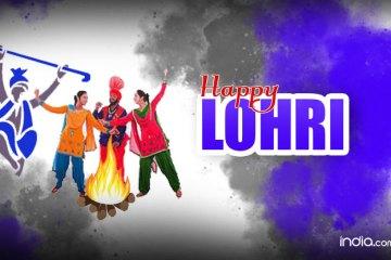 Celebration Happy Lohri Greetings Image