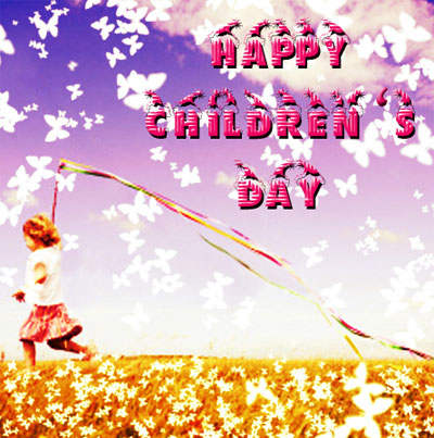 Childhood Is Best Happy Children's Day Greetings Image