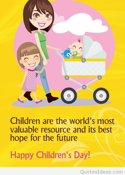 Children's Day Greetings From Mom Image