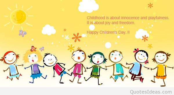 Children's Day Message To Everyone Image