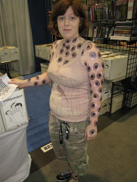 Cool Geek Tattoo On Full Body For Girls