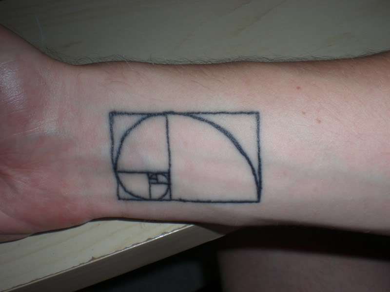 Crazy Geeky Tattoo On Wrist For Boys