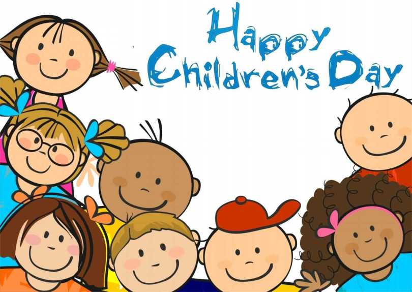 Cute Happy Children's Day Graphics