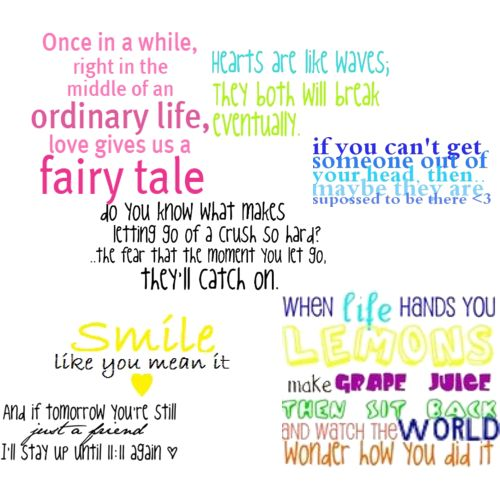 Cute Life Quotes Once in a while right in the middle of an ordinary life, love gives us a fairy tale