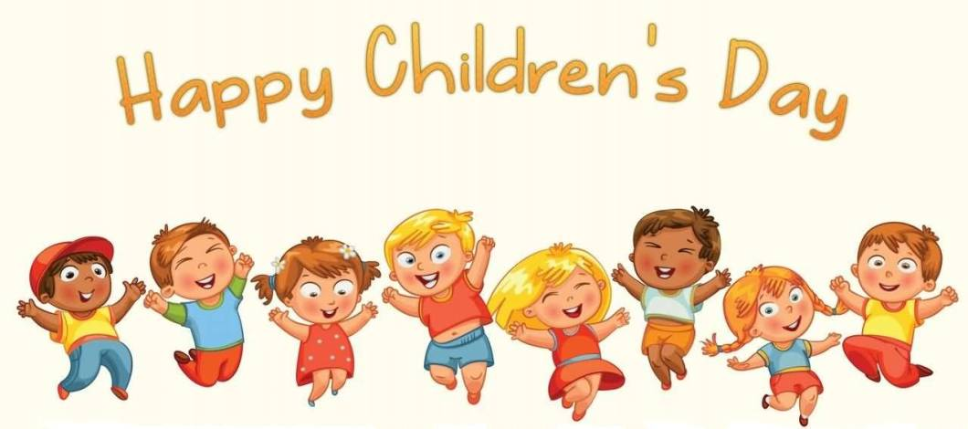 Cute Wishes Happy Children's Day Image