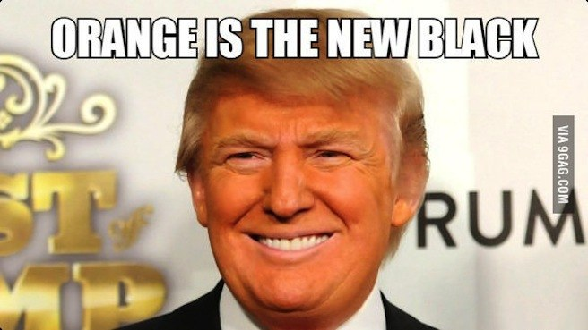 Donald Trump Funny Meme Orange Is The New Black