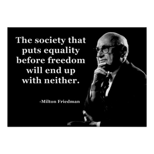 Equality Sayings the society that puts equality will end up with neither
