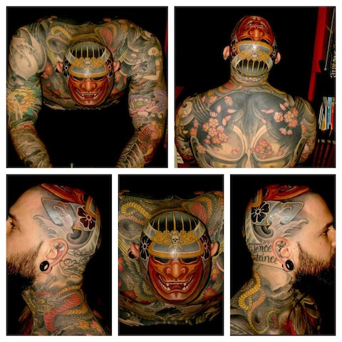 Extremely Japanese Full Body Tattoo Pictures For Boys
