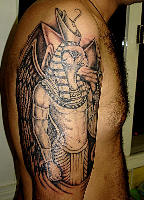 Fabulous Egyptian Tattoo Image For Boys