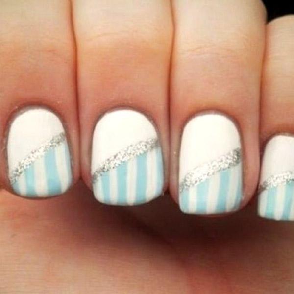 65 Stunning Light Blue Nails Art Designs \u0026 Styles