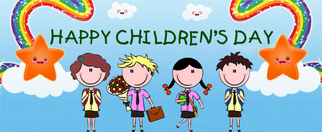 Facebook Cover Image Happy Children's Day Wishes